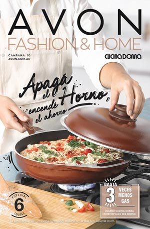 Avon Folleto Fashion & Home Campaña 10/2019 portada
