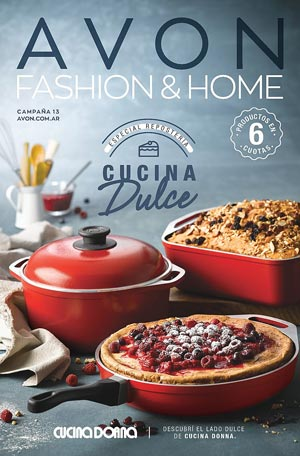 Avon Folleto Fashion & Home Campaña 13/2019 portada