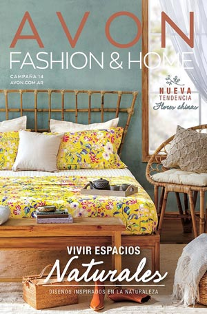 Avon Folleto Fashion & Home Campaña 14/2019 portada