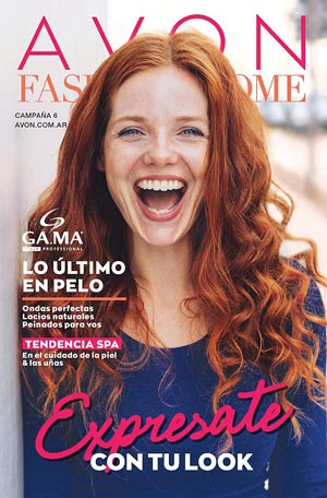 Avon Folleto Fashion & Home Campaña 6/2019 portada