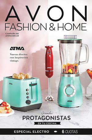 Avon Folleto Fashion & Home Campaña 8/2019 portada